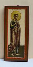 Alt-russische Ikone Philippus der Apostel Mitte 19 Jh. Zentralrussland