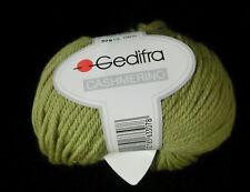 (110 €/kg): 750 g CASHMERINO, Gedifra, Fb. 4807 grün  #1825