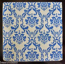 20 BLUE & White DAMASK 3PLY Napkins Shabby Paper Serviettes Premium Vintage CHIC