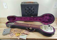 1935 Vintage Bronson Singing Electric Lap Steel Guitar w/Amp -Texas Swing- works