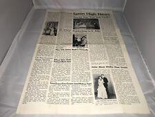 Seton High School Newspaper - 1950 - Baltimore, Maryland
