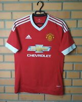 Manchester United Jersey 2015 2016 Home SMALL Shirt Soccer S Adidas Football