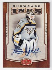 2006-07 NHL Fleer Flair Showcase Inks # I-TV Tomas Vokoun / Autographed