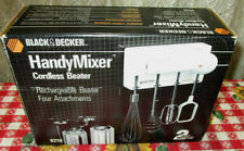 NOS Black & Decker HANDY MIXER Cordless Rechargeable Beater #9210 SEALED BOX