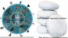 """Large Round Floor Pillow Meditation Cushion 32"""" Yoga pillow Inner Insert Filler"""