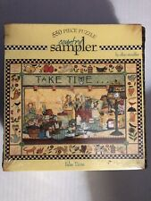 New Country Sampler 550 Piece Jigsaw Puzzle Sealed Take Time 2004 Ceaco