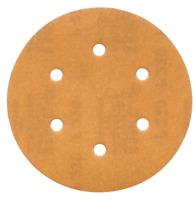 """6"""" 600 Grit Sanding Disc 6 Hole Random Orbital Orbit Hook & Loop Sandpaper"""