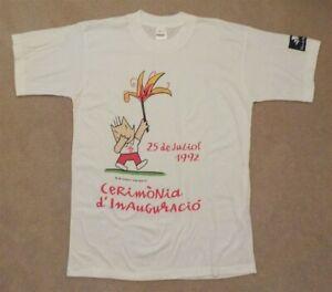 1992 Barcelona Olympics Opening Ceremony Shirt Size Large