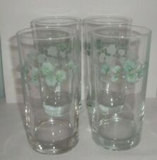 Corning Corelle Callaway Ivy Lot of 4 Tumblers 16 oz. 6""