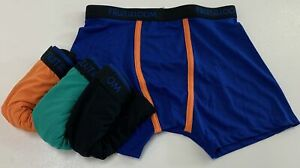 FRUIT OF THE LOOM Medium Boys' Boxer Briefs NEW, NOT IN PACKAGE 4 Pack Multicolo