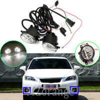 2x LED Fog Light Lamp Wiring Kits For Toyota Aurion Avalon Avensis Camry Corolla