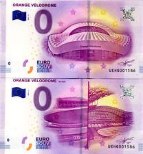 13 MARSEILLE Les 2 Stades Orange Vélodrome, Même N°, 2017, Billet 0 € Souvenir