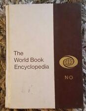 Vintage 1973  World Book Encyclopedia ~ Volume 14 ~ Letter N-O