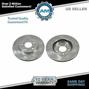 Front Disc Brake Rotor Pair Set for Chrysler Dodge Plymouth