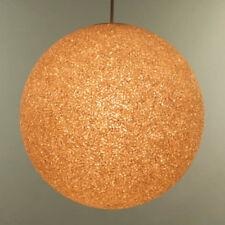Granulat Kugel Pendel Leuchte Kunststoff Hänge Lampe ∅ 38 cm Vintage Ball Lamp