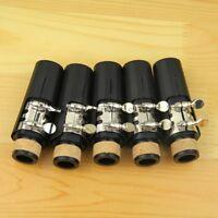 Clarinet service Parts:5 Set Bb Clarinet Mouthpiece Reeds + ligature + Cap