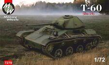 Ruedas militar 1/72 soviético T-60 (ZIS-19) # 7279
