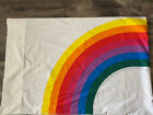 Vintage 80s Wamsutta Tomorrow's Rainbow Standard Pillow Case Stranger Things