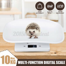 Digital Baby Scale Infant Weighing Scales 10KG Pet Scale Kitchen Scale LCD NEW