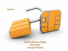 Liberar IPHONE ORANGE FRANCIA!UNLOCK OFICIAL! 100% SEGURO!!URGENTE!!EXPRESS