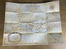 Centurion: Defender of Rome PC by Electronic Arts 1990 Fold Out Roman Empire Map