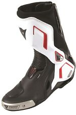 MOTO STIVALI DAINESE TORQUE D1 OUT gr: 42 colore: Nero/ Bianco/ ROSSO raceing