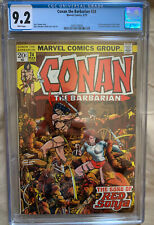 Conan the Barbarian #24 - CGC 9.2 - WHITE Pages - 1st Full Red Sonja!