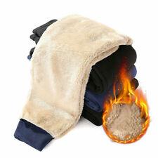 Hommes Décontracté Hiver Thermique Pantalon Doublé Fourrure Chaud Sport