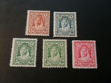 TransJordan  1930-39  Selection of  Mm stamps as per pictures