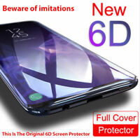 For Samsung Galaxy S8 S9 Plus Note 8 9 6D Screen Protector Proof Tempered Glass