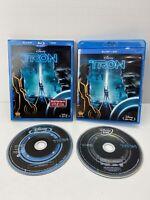 Tron: Legacy (Blu-ray + DVD, 2011, 2-Disc Set, w Slipcover) Disney