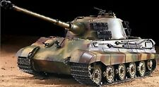 RC Panzer Deutscher Königstiger 1:16 Heng Long Rauch+Sound Metallgetriebe 2,4GHz