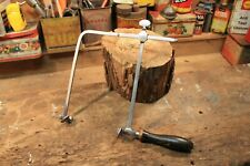 scie fer outil ancien métier artisan bois menuisier collection décoration