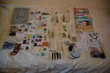 Large selection of beads and beading components