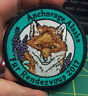 2017 Anchorage Alaska Fur Rondy Rendezvous Embroidered Alaska Patch with Fox