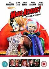 Mars Attacks 7321900144803 With Jack Nicholson DVD / Widescreen Region 2