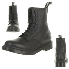 Women's Dr. Martens Pascal Mono W Lace-up Ankle BOOTS in Black - Size UK 7 / EU