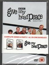 BBC - GIVE MY HEAD PEACE SERIES 6  PARTS 1&2 IN ONE BUNDLE - Free Post UK
