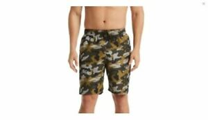 "New Nike Men's Camouflage 9"" Swim Trunks Size XL Medium Olive $58 S0929"