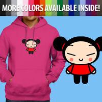 Pucca Love Garu Korean Cartoon Cute Kawaii Pullover Sweatshirt Hoodie Sweater