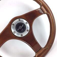 Personal (Nardi) wood rim voiture volant. 365 mm. AUTHENTIQUE. Rare Rétro Classique
