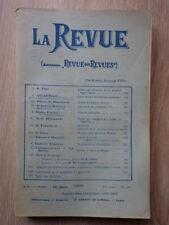 LA REVUE (Ancienne Revue des Revues) Nr 3 Fevrier 1905 JEAN FINOT