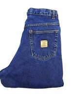 """Womens BEAR River Original Fit Relaxed Flannel Lined Jeans Size 12  32"""" inseam"""