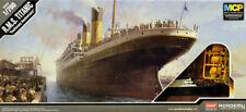 R.M.S. titanic barco Ocean Liner MCP teñidos 1:700 model kit Academy 14214