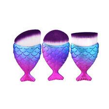 Glowii 3pcs Unicorn Fish Style Brush Set