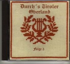 (DG706) Durch's Tiroler Oberland, Folge 3 - CD