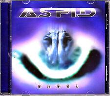 CD ASPID babel SPAIN 2002 HEAVY METAL TRASH MINT