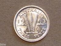 Australia.   1963 Threepence Proof.......  Mintage-5042