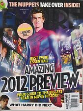 EMPIRE UK MAGAZINE # 272 Feb 2012, SPIDER-MAN, THE AVENGERS, SKYFALL, THE HOBBIT