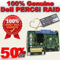 Dell Poweredge 1950/2950 PERC 6i SAS Raid Card WY335 0WY335 Battery 0NU209 256MB